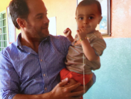 Camilo's visit to Santa Clara Renacer
